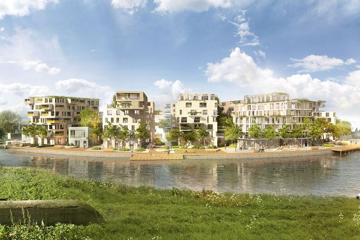 Visuals - Cruquiuseiland  - Projects - KCAP  super bright spaces, designed for as many people as possible to have sun