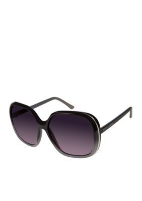 Vince Camuto Women's Rectangle Sunglasses - Gray - One Size