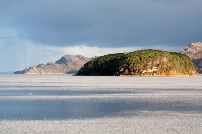 Loch Shieldaig in Wester Rossis one of top 15 Scotland tourist attractions