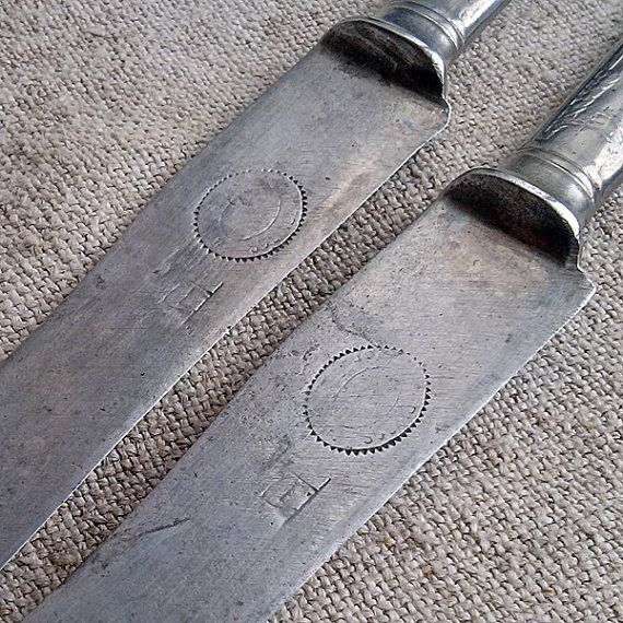 Antique table knife Solingen Cutlery Kitchen Retro Dining