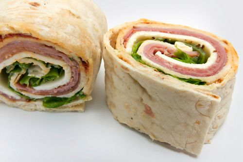 Roles and wraps are easier to eat in school or office if cut into smaller pieces. Also my daughter likes smaller portions and tends to waste the role or wrap if you give her a full one.