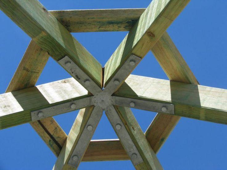 Gazebo Rafter Bracket Gal Square Hexagonal Octagonal