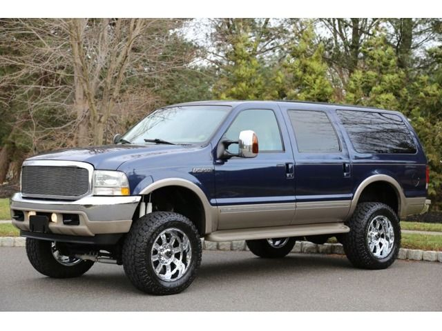 2002 Ford Excursion Limited 7 3 Ford Excursion Diesel Ford Excursion Ford Trucks