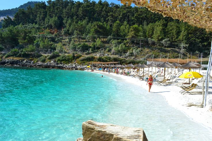 Thassos, Marble Beach, Greece