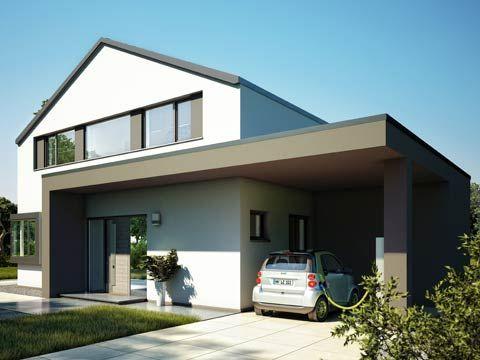 Stadtvilla mit carport und garage  Die 76 besten Bilder zu Carport auf Pinterest | Dachbegrünungen ...