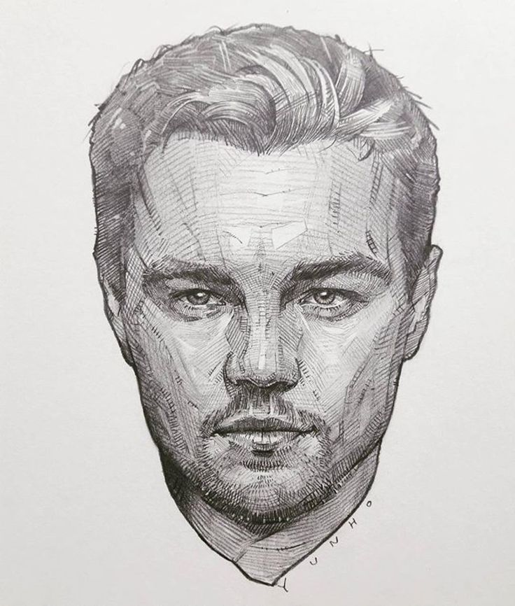 Leonardo Di Caprio, by Yunho