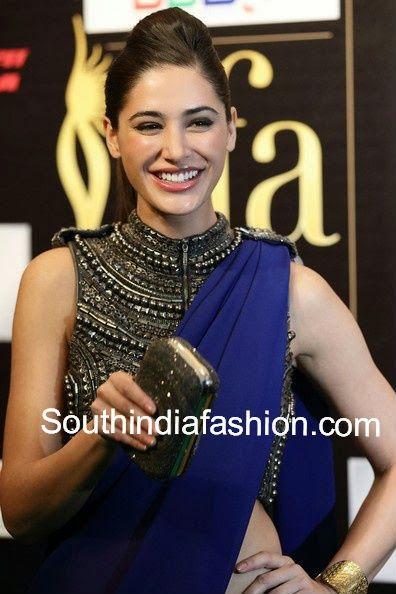 high neck saree blouse