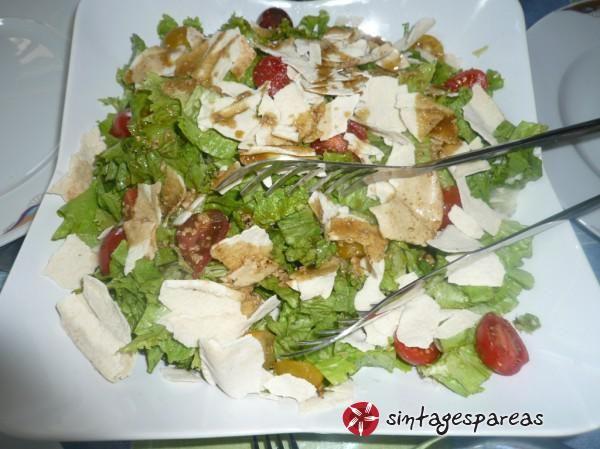 Σαλάτα πράσινη με balsamico #sintagespareas