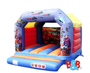 B&B Bouncy Castle Giant Inflatables