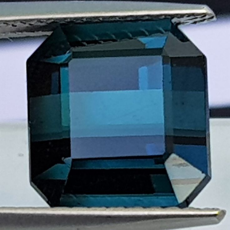 6.32cts,Certified Indicolite Blue Tourmaline, VVS