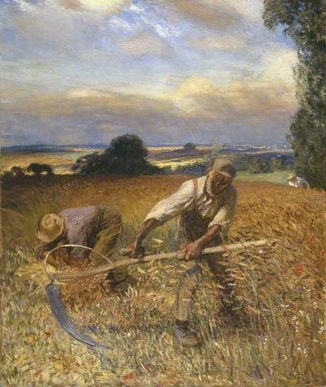 The Old Reaper by George Clausen