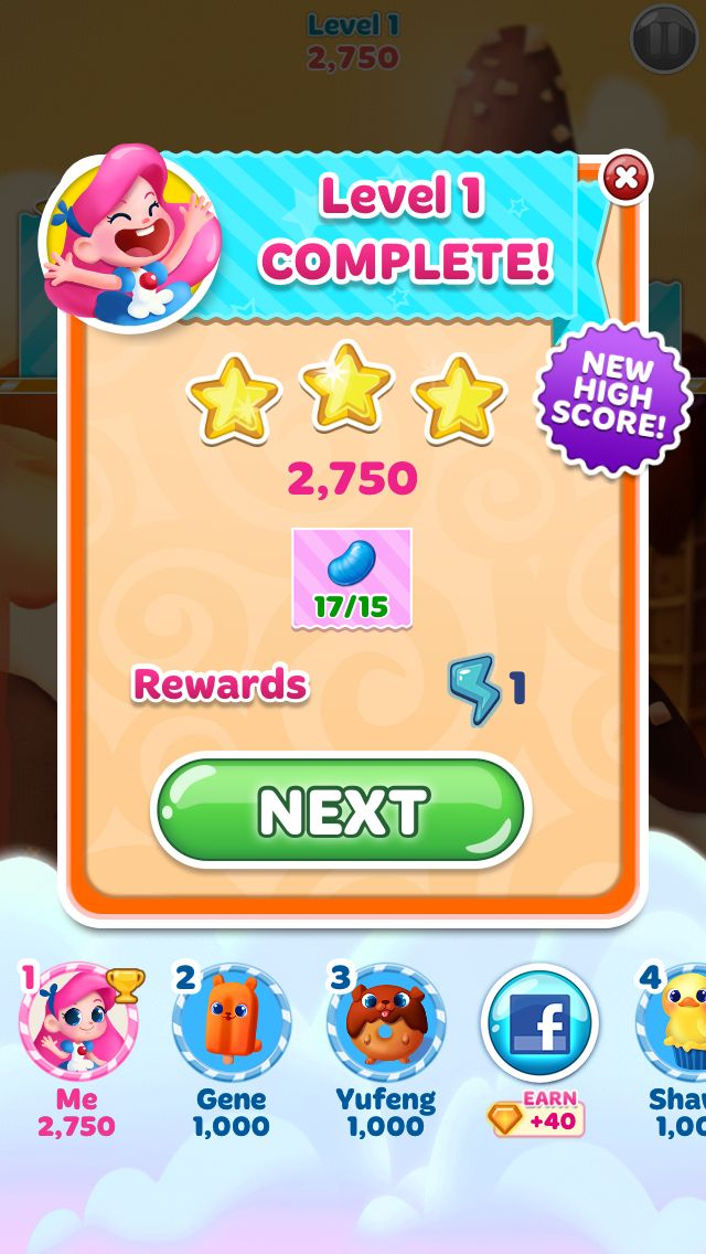 Candy Blast Mania.  More fun than the other one!  I'm on level 242