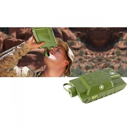Flasque Tank. Kas Design, distributeurs de produits originaux.
