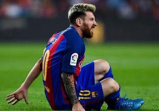 Blog Esportivo do Suíço:  Com lesão muscular, Messi para por 3 semanas e desfalca seleção argentina