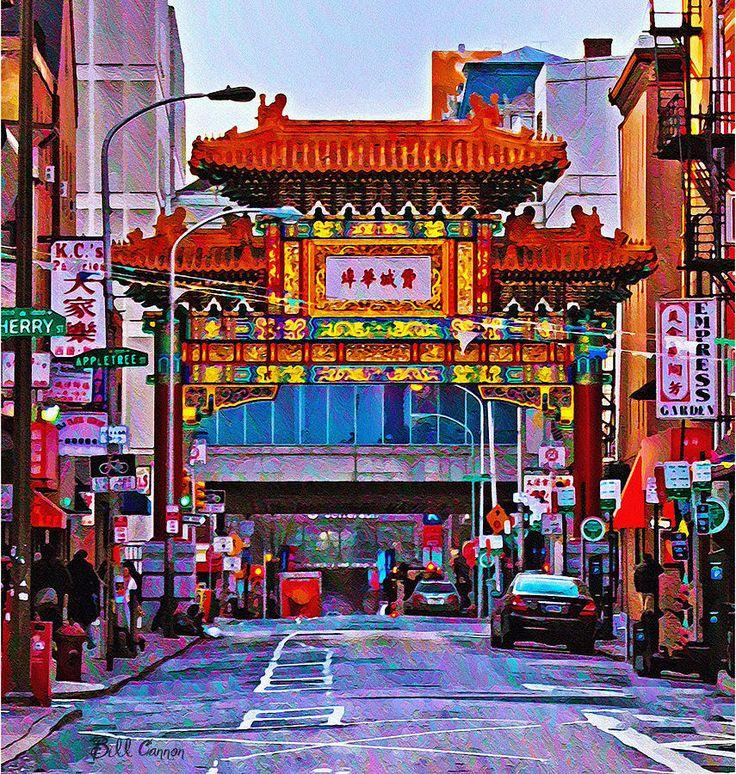 Philadelphia's China Town Print