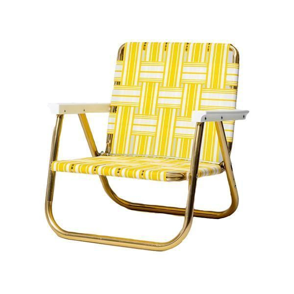 Funboy Retro Lawn Chair Yellow White Funboy Lawn Chairs Usa