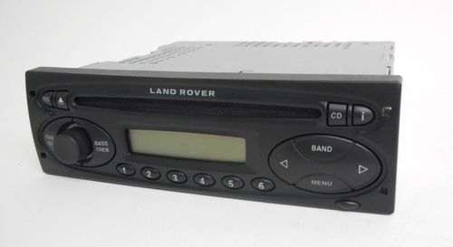 2002-2004 Land Rover Freelander AM FM CD Player Radio Part Number: XQE000170PMA