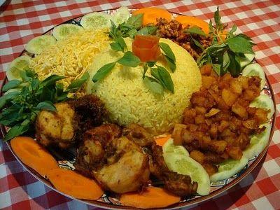 Yellow Rice indonesian food