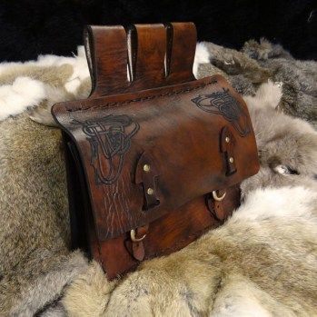 Leather Pouch (Book Style)