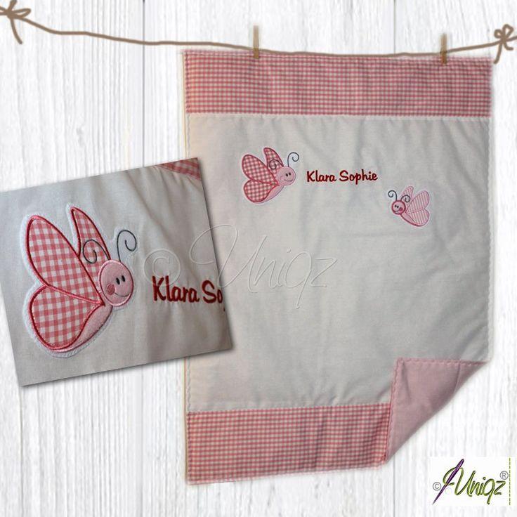 ber ideen zu babydecke mit namen auf pinterest baby kuscheldecke babydecken und. Black Bedroom Furniture Sets. Home Design Ideas