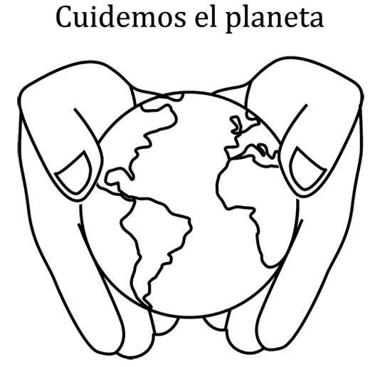 dia de la tierra para colorear - Google Search. Spanish 3