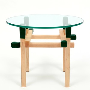 Matchstick Round Table Green