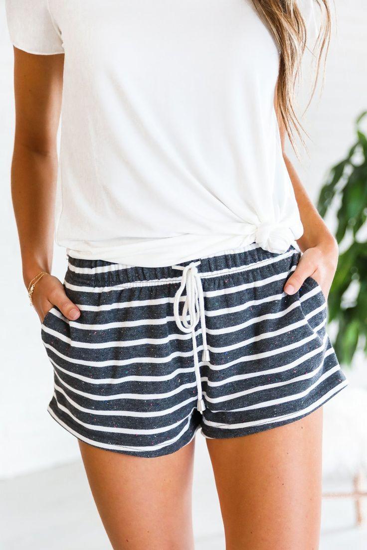 Cape Cod Striped Shorts