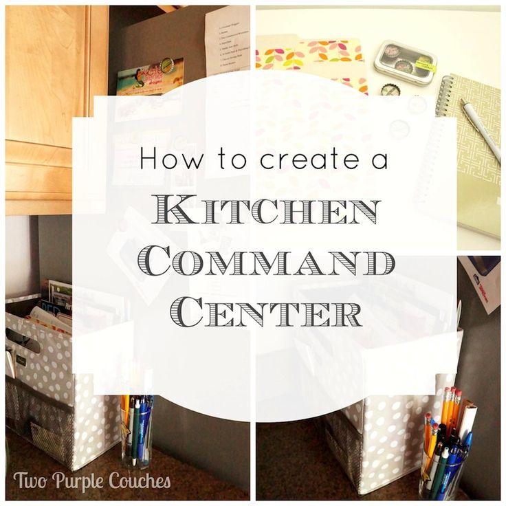 Kitchen Command Center: 1000+ Ideas About Kitchen Command Centers On Pinterest