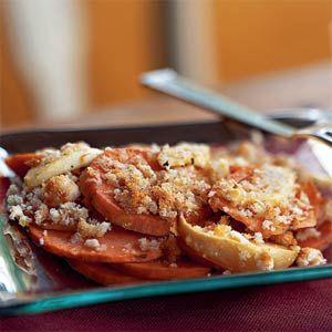 Sweet Potato and Apple Gratin | MyRecipes.com