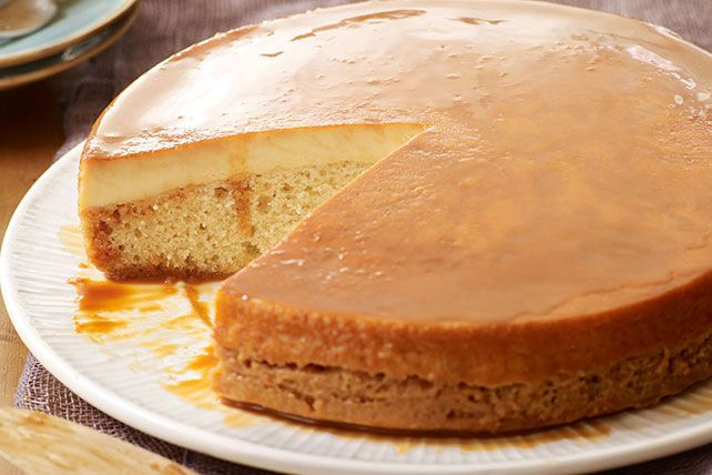 This choco-flan variation is all about vanilla.