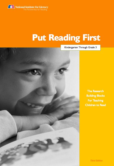 This chapter in PRF defines fluency, reviews the research evidence pertaining to fluency instruction and provides numerous strategies that educators can implement to assist students in becoming fluent and expressive readers. The chapter convinced me of the merits of direct instruction over silent, independent reading and showed how teacher-supported reading is supported by scientific research.
