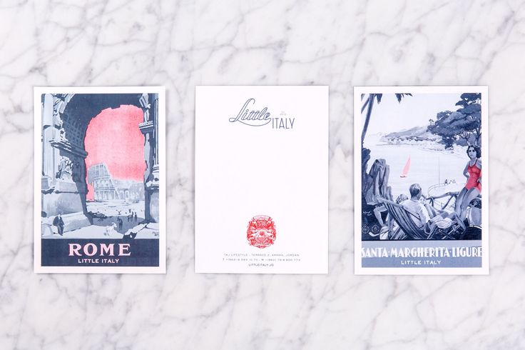 Little Italy by Here Design, United Kingdom. #branding #print