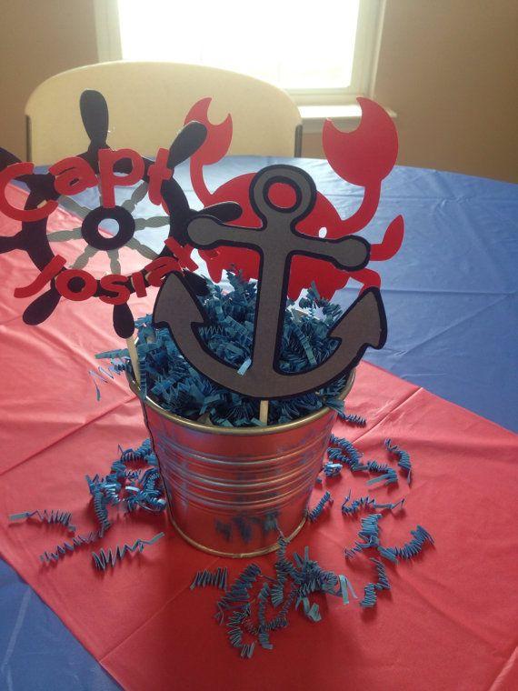 Palillos del náutico centro de mesa para por sparklepaperscissors