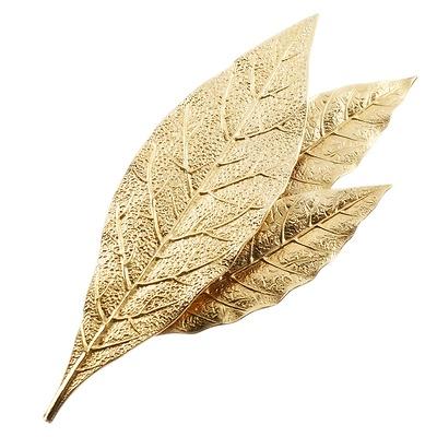 Broche inspirée des feuilles de laurier de la couronne de Napoléon