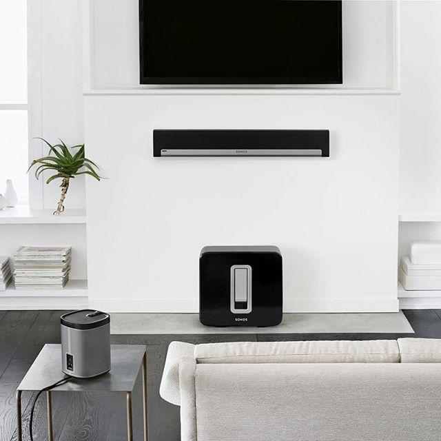Best 25 sonos ideas on pinterest sonos system sonos 1 - Living room surround sound systems ...
