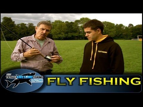 How to fly fish for Trout - Totally Awesome Fishing Show - YouTube