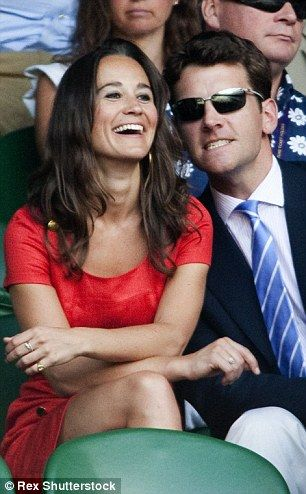 Pippa dated banker Alex Loudon, 35,  for three years before separating in 2011. Pictured together in June 2011