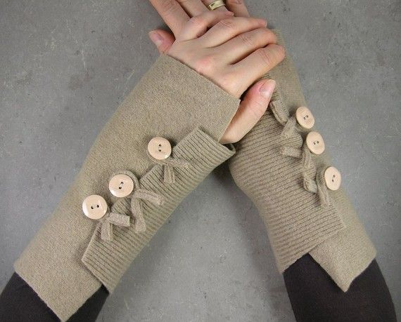 Recycled  - made from recycled wool sweaters!