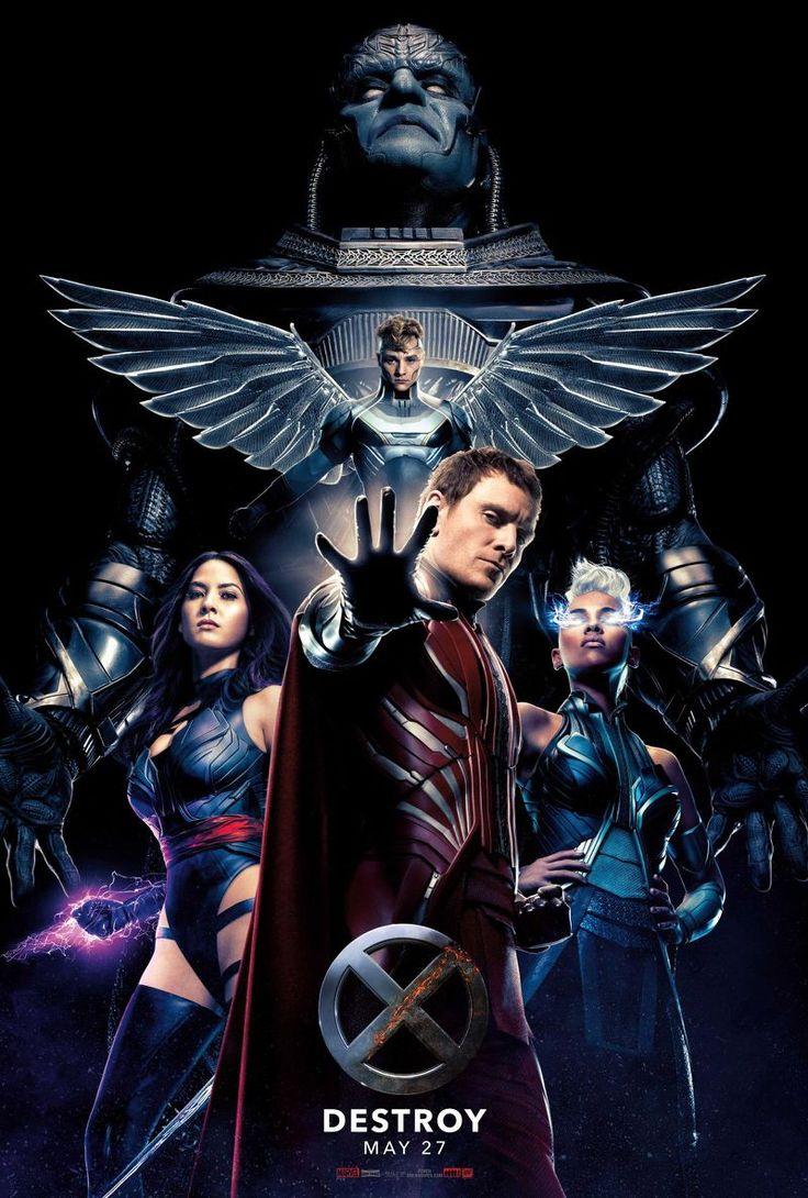 A lire sur AlloCiné : Magneto, Tornade, Angel et Psylocke : les Quatre Cavaliers sont rassemblés autour du grand méchant Apocalypse, sur une affiche qui annonce des heures sombres pour les X-Men.