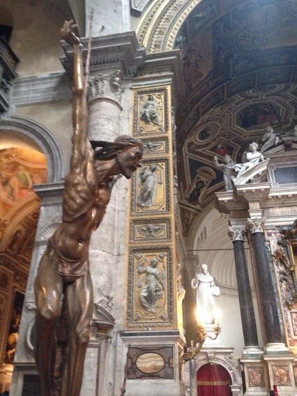 Arte moderna a Santa Maria del Popolo #SMP #invasionidigitali