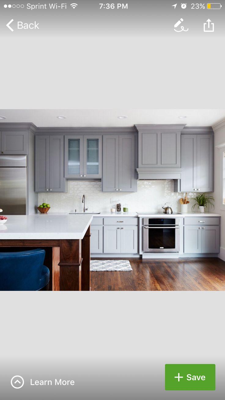 Best Kitchen Cabinets Benjamin Moore Paint Greystone 400 x 300