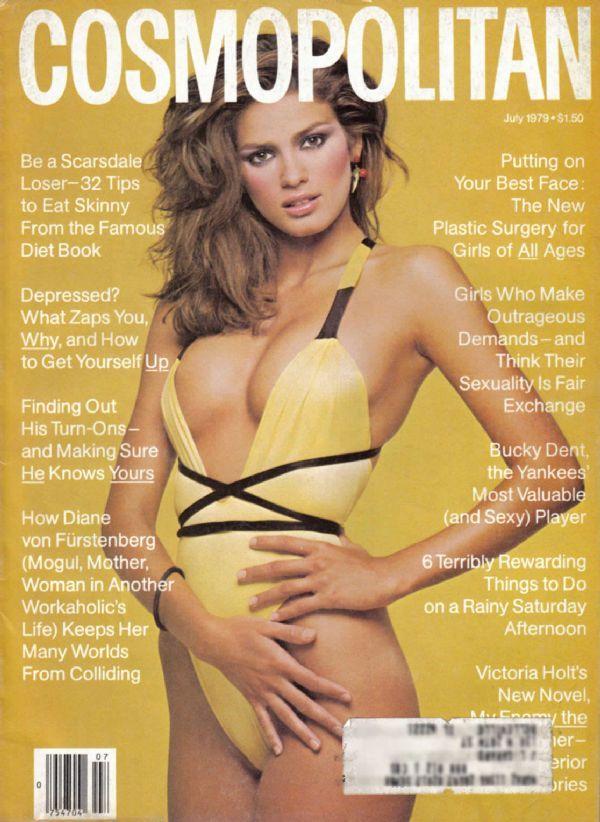Gia Garangi. American Cosmopolitan. July 1979.