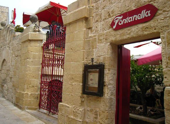Fontanella in Mdina, Malta is a veritable cake icon.