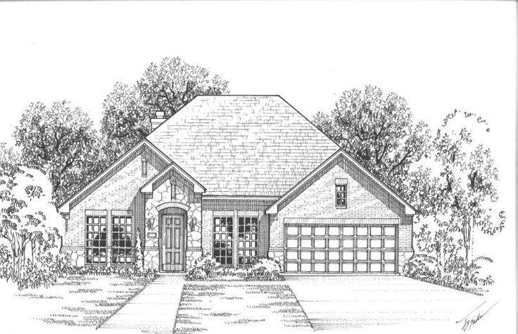 724 Fireside Drive | New Homes in Little Elm TX