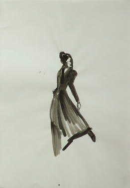 "Saatchi Art Artist Marta Zamarska; Drawing, ""Modern Dance XXII"" #art"