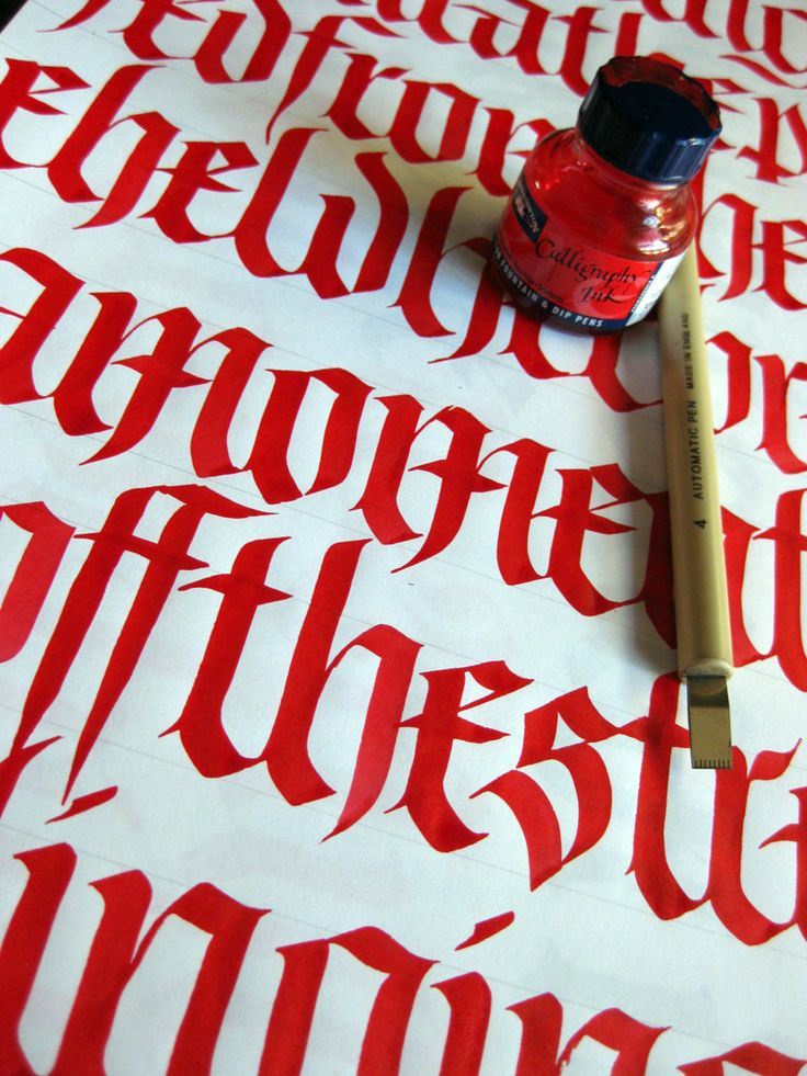 Typography Calligraphy Lettering 10 Handpicked Ideas