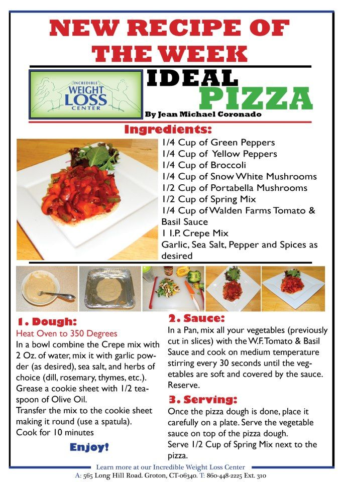 ideal protein pizza | Ideal protien foods | Pinterest ...