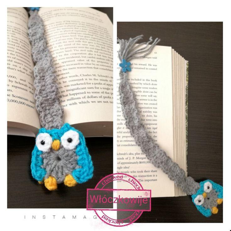 Bookmark owl. Zakładka sowa.