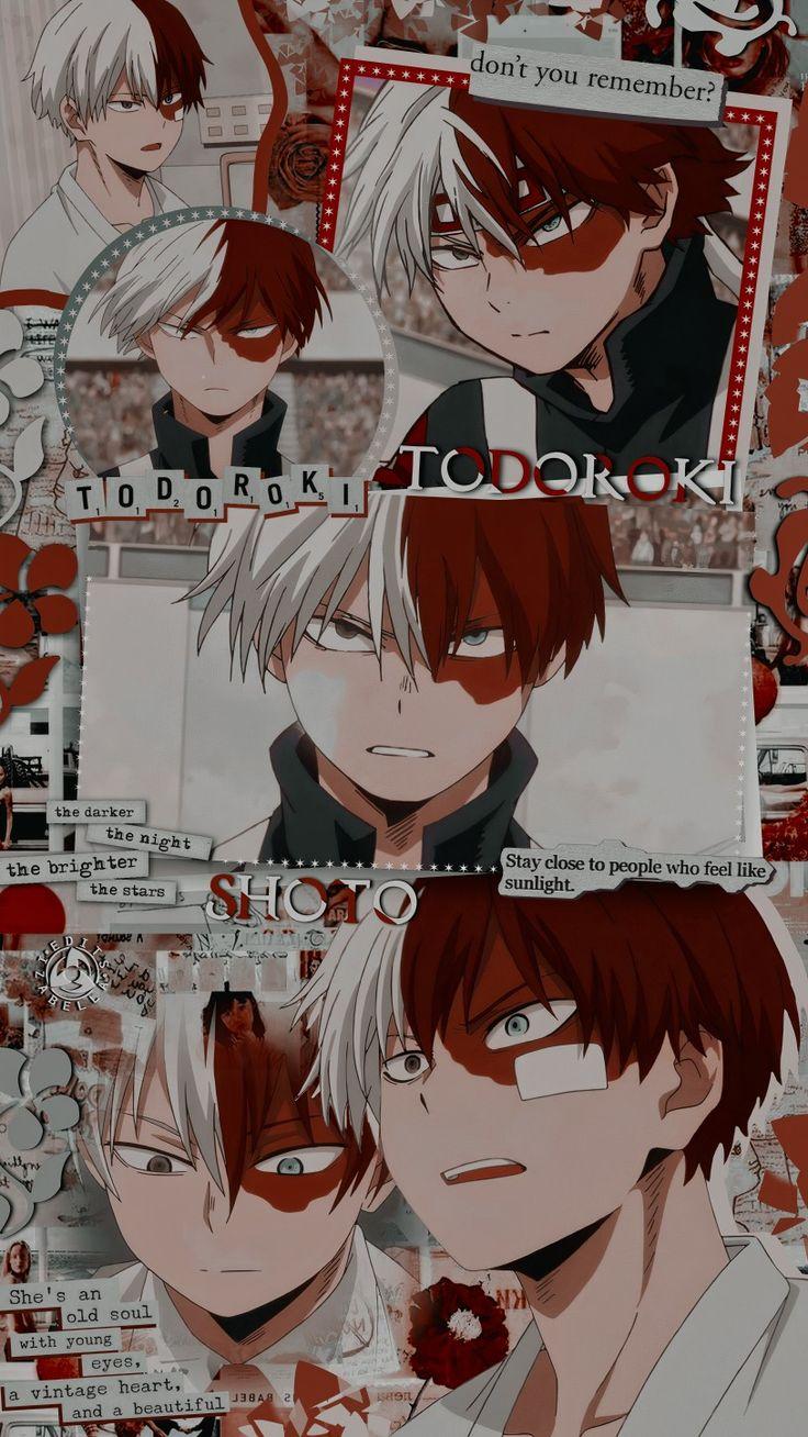 1920x1080 shokugeki no soma anime city naruto anime one piece spider man boku no hero academia the simpsons as wallpaper,image. Todoroki Wallpaper | Boku no Hero Academia Edit em 2021 ...