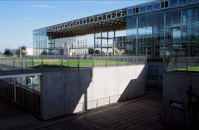 Saitama Prefectural University, architect: Rikken Yamamoto
